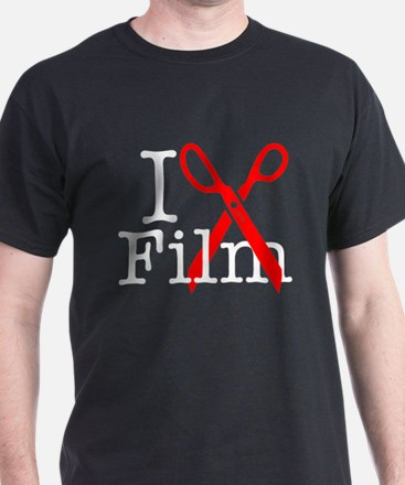 I Edit Film - T-Shirt
