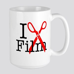 I Edit Film - Large Mug Mugs
