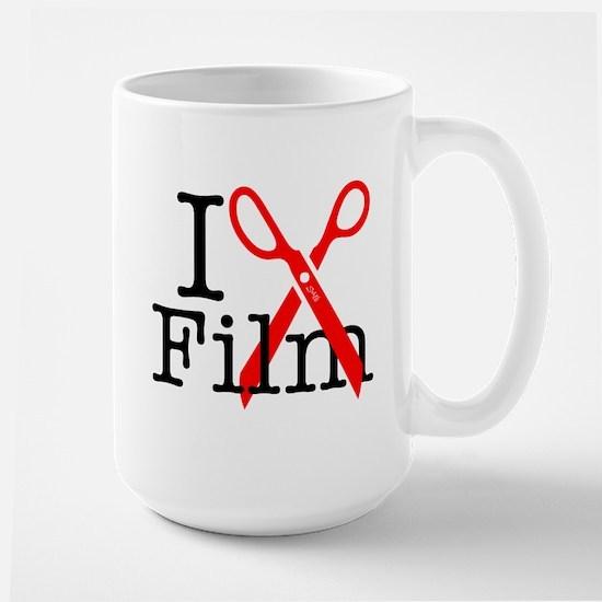 I Edit Film - Large Mug Mugs