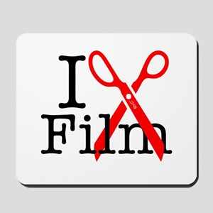 I Edit Film - Mousepad