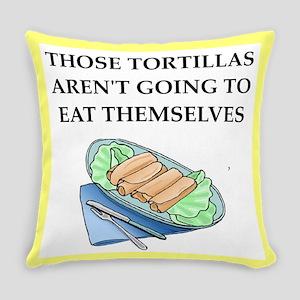 tortillas Everyday Pillow