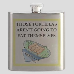 tortillas Flask