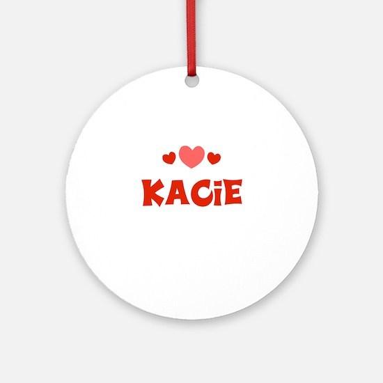 Kacie Ornament (Round)
