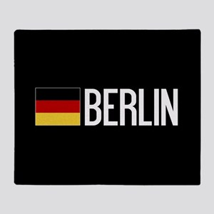Germany: German Flag & Berlin Throw Blanket