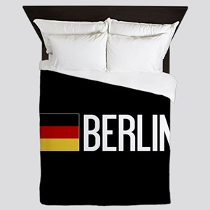 Germany: German Flag & Berlin Queen Duvet