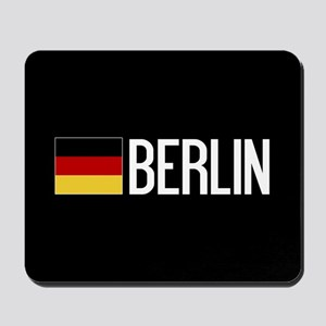 Germany: German Flag & Berlin Mousepad