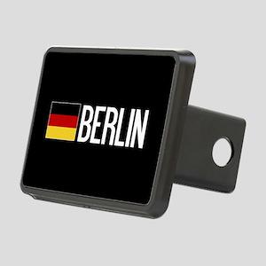 Germany: German Flag & Ber Rectangular Hitch Cover