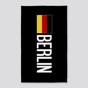 Germany: German Flag & Berlin Area Rug