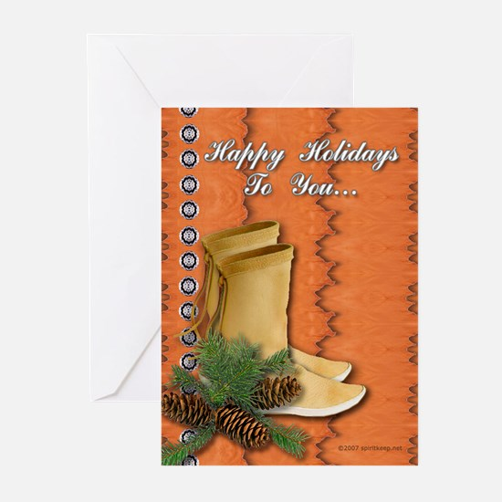 Happy Tracks Christmas Cards (Pk of 20)