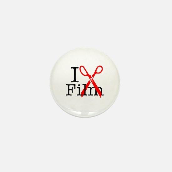 I Edit Film - Mini Button