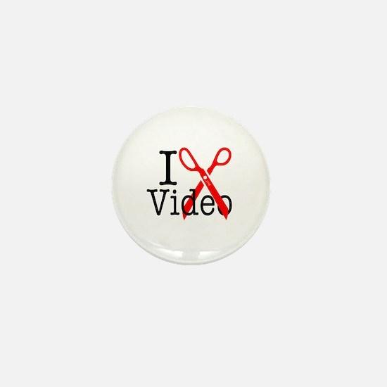 I Edit Video - Mini Button