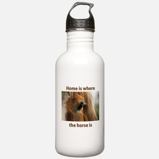 Home is horse Water Bottle