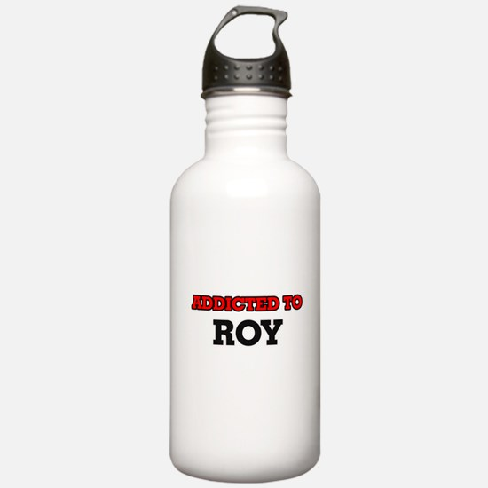 Addicted to Roy Water Bottle