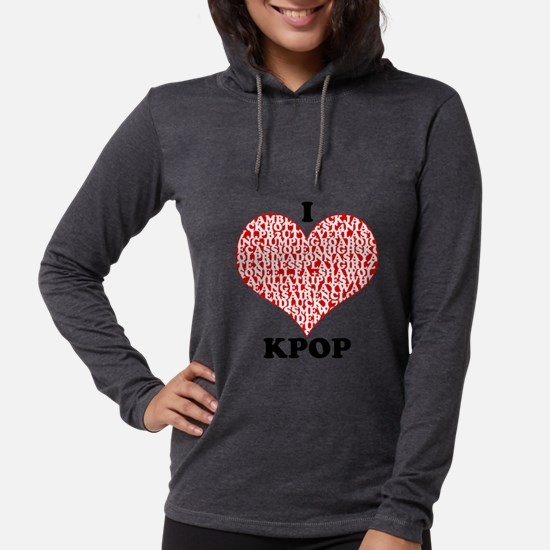 I <3 KPOP! Long Sleeve T-Shirt