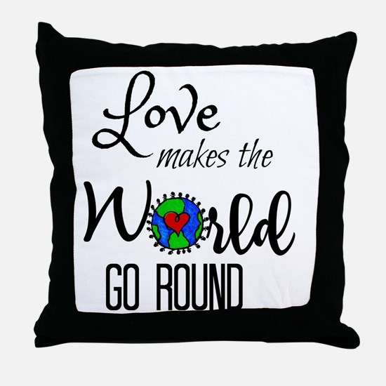 Cute All kinds Throw Pillow