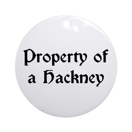 Property of a Hackney Ornament (Round)
