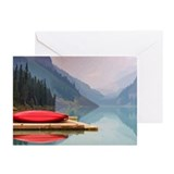 Canoe Greeting Cards (10 Pack)