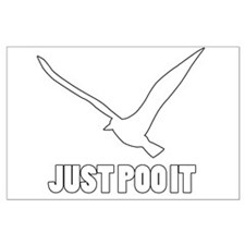 Just Poo It Poster