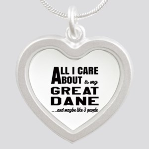 All I care about is my Great Silver Heart Necklace