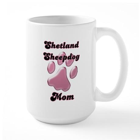 Sheltie Mom3 Large Mug