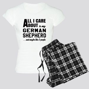 All I care about is my Germ Women's Light Pajamas
