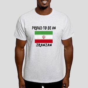 Proud To Be Iranian Light T-Shirt