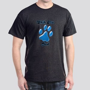 Shih Tzu Dad3 Dark T-Shirt