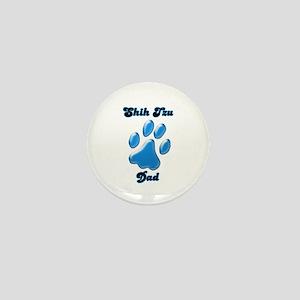 Shih Tzu Dad3 Mini Button