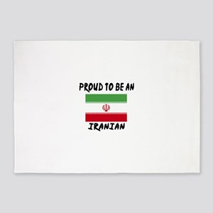Proud To Be Iranian 5'x7'Area Rug