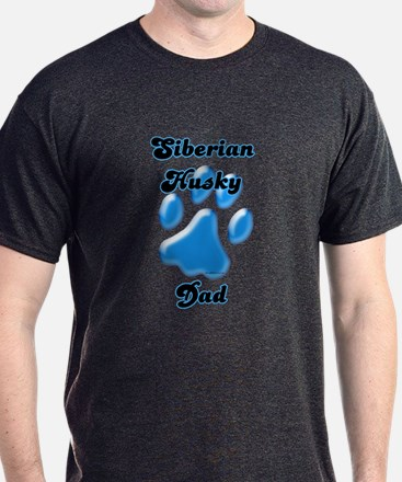Husky Dad3 T-Shirt