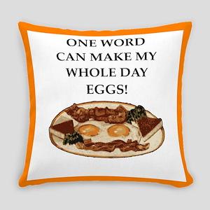 eggs Everyday Pillow