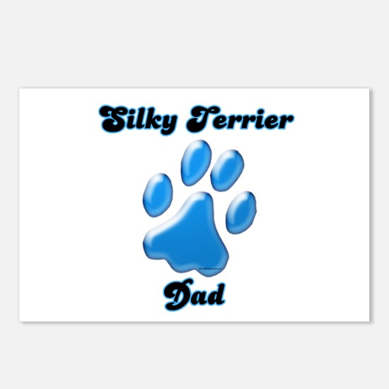 Silky Dad3 Postcards (Package of 8)