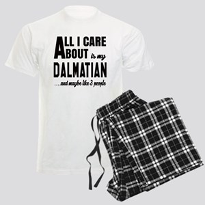 All I care about is my Dalmat Men's Light Pajamas