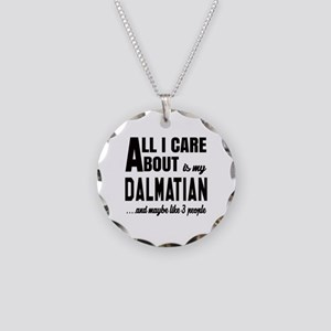All I care about is my Dalma Necklace Circle Charm