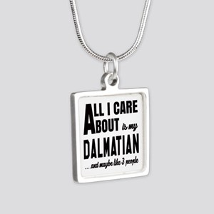 All I care about is my Dal Silver Square Necklace