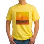 32.the pursuit. . ? Yellow T-Shirt