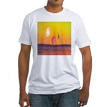 32.the pursuit. . ? Fitted T-Shirt