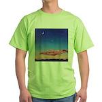 46.her moon. .? Green T-Shirt