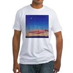 46.her moon. .? Fitted T-Shirt