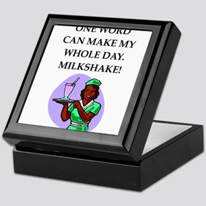 milkshake Keepsake Box