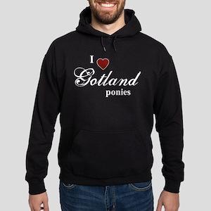 Gotland ponies Hoodie