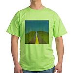 25.highway to heaven. .? Green T-Shirt