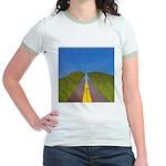 25.highway to heaven. .? Jr. Ringer T-Shirt