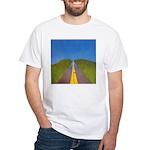 25.highway to heaven. .? White T-Shirt