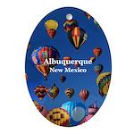 Albuquerque Oval Ornament