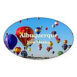 Albuquerque Sticker (Oval 10 pk)