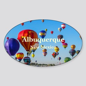 Albuquerque Sticker (Oval)