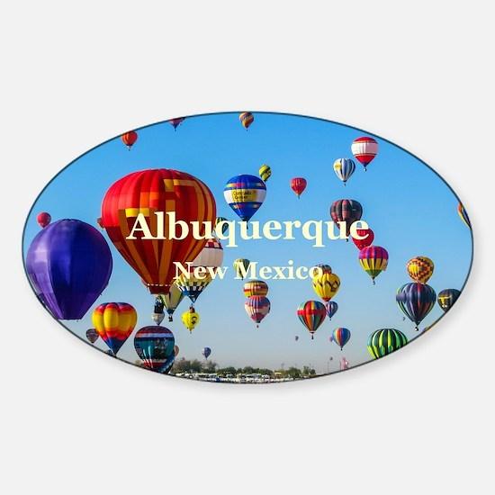 Albuquerque Sticker (Oval)