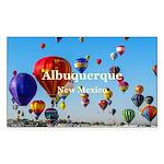 Albuquerque Sticker (Rectangle 10 pk)