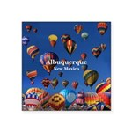 "Albuquerque Square Sticker 3"" x 3"""